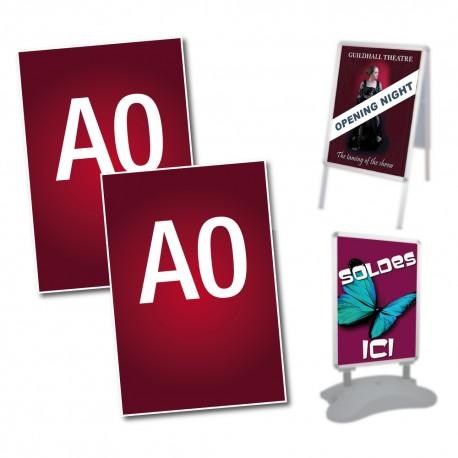 affiches de remplacement A0