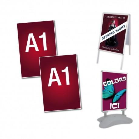 affiches de remplacement A1