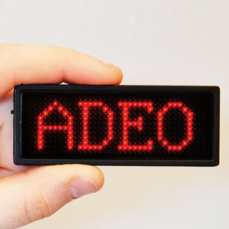 Adeo-badge-a-led