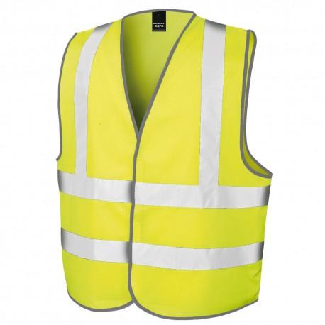 Gilet de sécurité fluo personnalisé