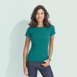 Tee-shirt FEMME col rond personnalisé