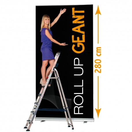 Roll up geant 150x 280 cm