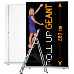 Roll up geant 200x 280 cm